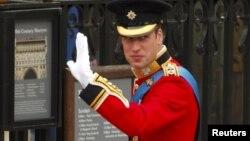 Britanski princ William, London, 29. april 2012.