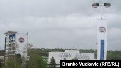 Фабриката на Фиат во Крагуевац