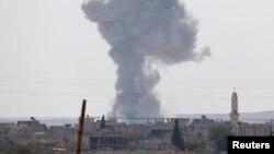 انفجار در کوبانی