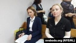 Алена Радавольская і Алена Шаўчонак