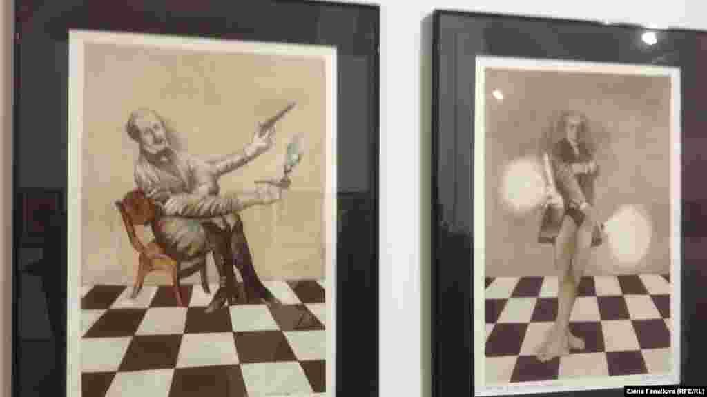Графика Александра Ройтбурда посвящена русским классикам