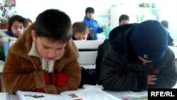 Соли 2008, яке аз мактабҳои Душанбе дар зимистон