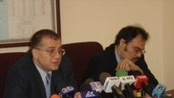 Araz Əzimovun mətbuat konfransı, Bakı, 4 aprel 2006