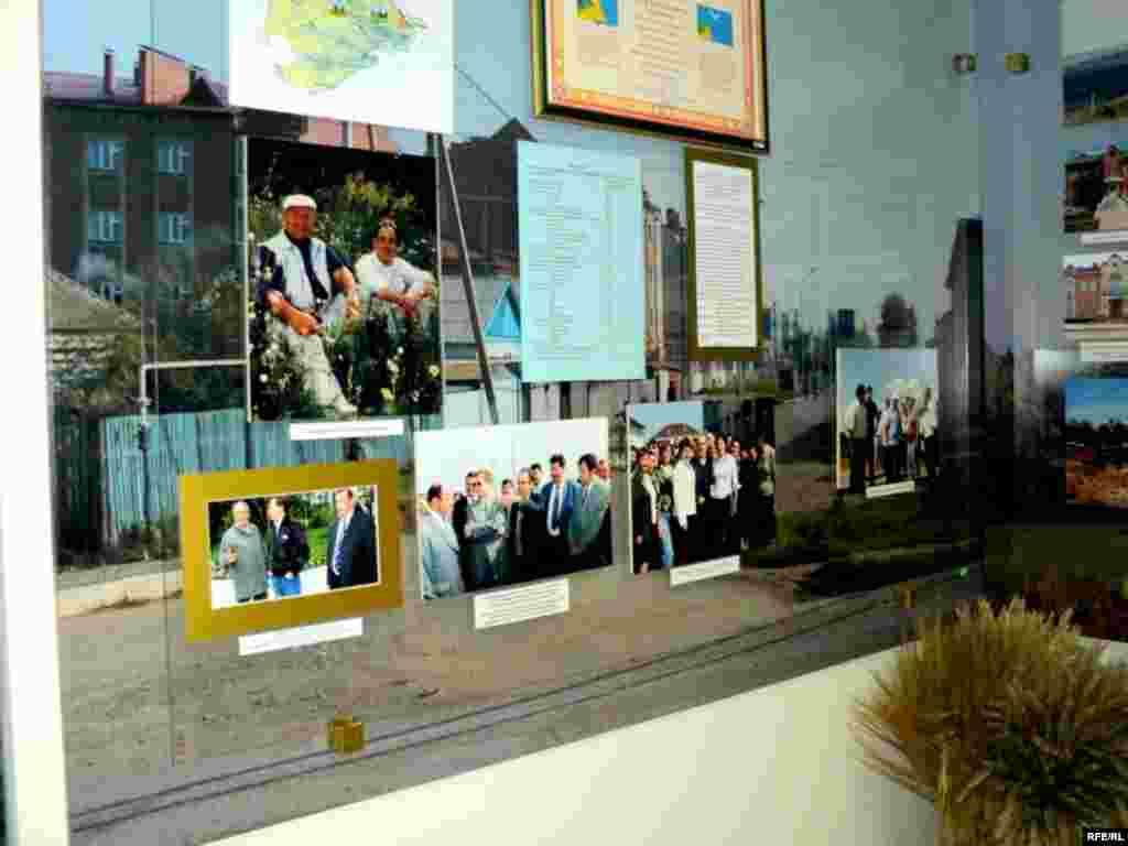 Районның истәлекле көннәре һәм анда катнашкан шәхесләр төшерелгән сүрәтләр - Кама Тамагы