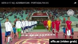 Azərbaycan Portuqaliya oyunu