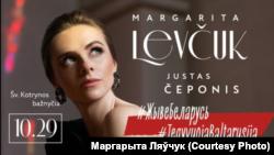Belarus - Marharyta Laučuk's concert in Vilnius, 29Oct2020