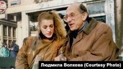 Татьяна Вольтская и Самуил Лурье