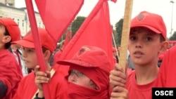 Протести на Албанците во 2003