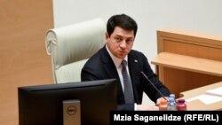 Спикер парламента Грузии Арчил Талаквадзе