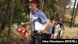 Защитники Химкинского леса открыли второй фронт