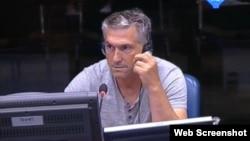 Safet Tači svjedoči u Hagu, 3. rujan 2012.