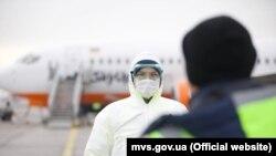 Борт близько 11:10 вилетів з аеропорту «Бориспіль»