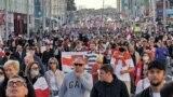 Марш Справядлівасьці ў Менску, 20 верасьня 2020 году