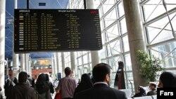 تصویری از فرودگاه «امام خمینی» در نزدیکی تهران