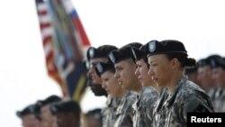 Американские военнослужащие в Южной Корее.