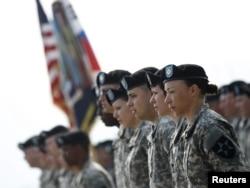 Военнослужащие отдельного 23-го батальона противохимической защиты армии США в Южной Корее