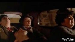 """Secnă din """"Amarcord"""", filmul lui Federico Fellini"""