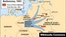 Vojna operacija Barbarossa, 1941.