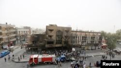 Ирак. Багдад после теракта. 04.07.2016