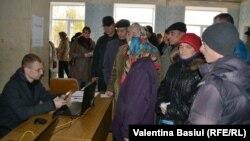 Избирачко место во Молдавија