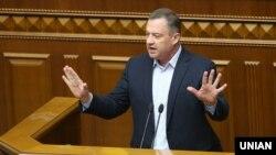 Ярослав Дубневич на засіданні Верховної Ради, на якому його позбавили недоторканності, Київ, 31 жовтня 2019 року