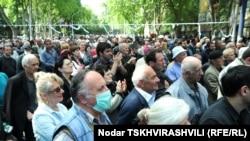 В отличие от Тбилиси, спокойная обстановка сегодня сохраняется в Батуми