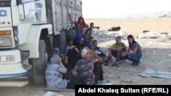 نازحون من الموصل في حدود محافظة دهوك