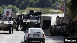 PIka kufitare në Bernjak, korrik, 2011