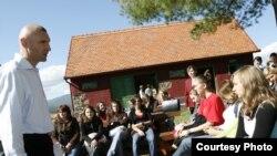 Էկոակումբի պարապմունք Խորվաթիայում: