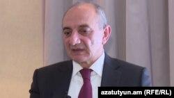 Президент Нагорного Карабаха Бако Саакяна,