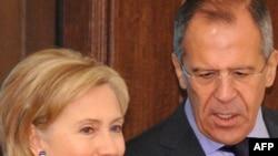 Госсекретарь Хиллари Клинтон уже поговорила с министром Сергеем Лавровым