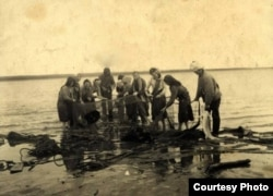 Немецкие спецпоселенцы-рыбаки на Таймыре