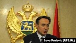 Претседателот на Социјалдемократската партија Ранко Кривокапиќ.