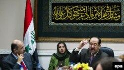 آقای المالکی می گوید: دولت وی مصم است تا به این جنایات پایان دهد.