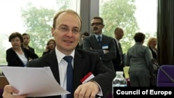 Министерот за надворешни работи Антонио Милошоски