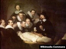 Рэмбрант. Урок анатоміі