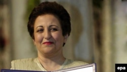 Shirin Ebadi received the Nobel Peace Prize in 2003 for her human rights work.