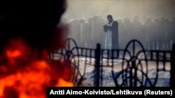 Несмотря на некоторое затишье в Киеве днем в воскресенье, ближе к вечеру ситуация начала обостряться