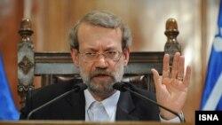 Иран парламентінің спикері Әли Лариджани.