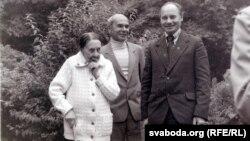 Зоська Верас, Аляксей Пяткевіч і Генадзь Каханоўскі