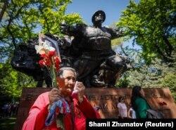 Вера Прохорова, участница шествия в Алматы.