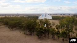 پرواز آزمایشی پهپاد گوگل در کویینزلند استرالیا