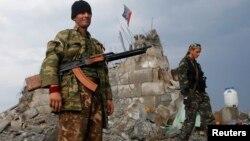 Separatistët pro-rusë në Donjeck