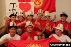 Кыргызы в Чикаго. Фото предоставлено Замирбеком Нуровым.