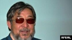 Көпен Әмірбек, сатирик, «Ара» журналының бас редакторы. Алматы, 31 наурыз 2009 ж.