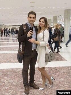 """Вероника Гордиенко и Александр Кузин, врачи-реаниматологи клиники """"Медси"""" на Пятницком шоссе."""