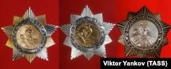 Радянський Орден Богдана Хмельницького I, II, III, ступенів