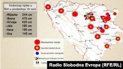 Infografika - poplave u BiH: autor Muris Dobrnjić
