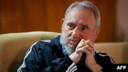 Бывший лидер Кубы Фидель Кастро