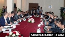 اجتماع لسياسيون كرد. من الارشيف